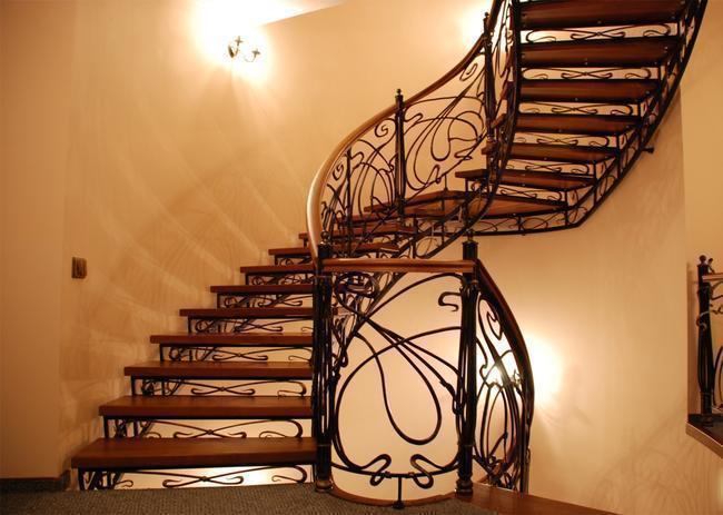 Эксклюзивная металлическая лестница