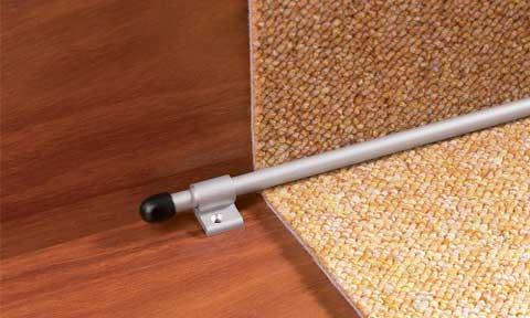 сплошная укладка ковролина на лестницы