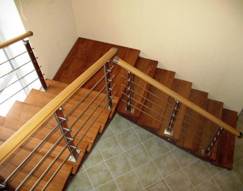 Маршевая лестница в частном доме