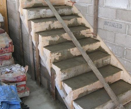 Изготовление и заливка бетонного раствора
