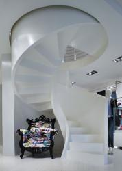 конструкция бетонной лестницы