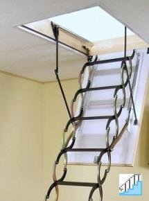 Чердачные лестницы под заказ в компании «СпецМеталлМастер»