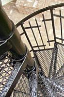 Фото ступеней винтовой лестницы