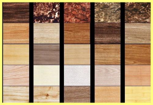 Фактура и цвет древесины для лестниц