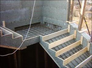 опалубка лестницы