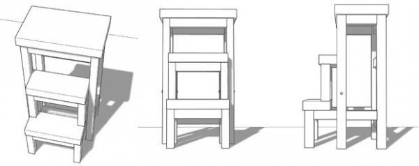стул-стремянка