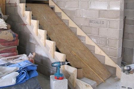 Изготовление лестницы из бетона: пошаговая инструкция