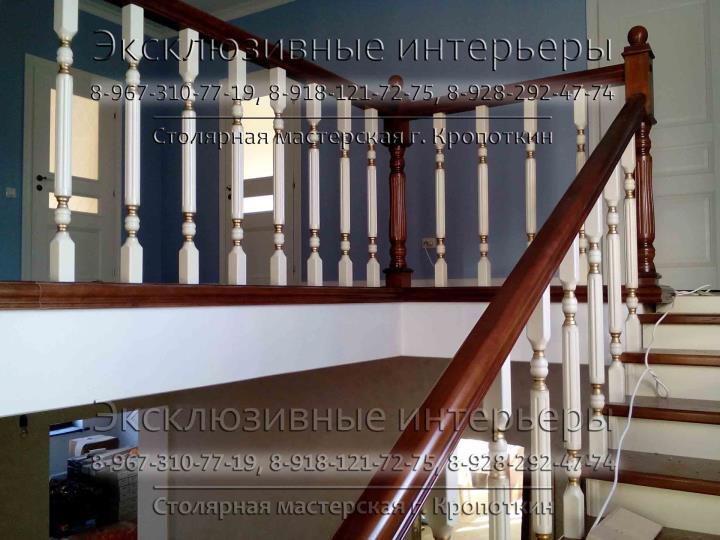 Изготовление и монтаж деревянных лестниц в Краснодаре - цена, фото
