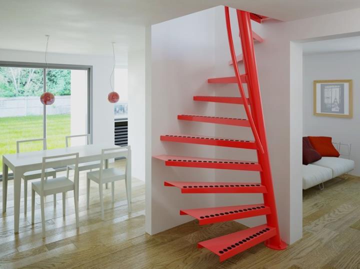 Металлическая сварная лестница
