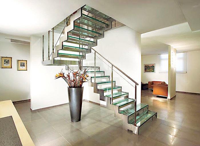 лестницы нержавейка