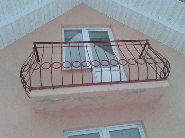 Сварные ограждения балконов