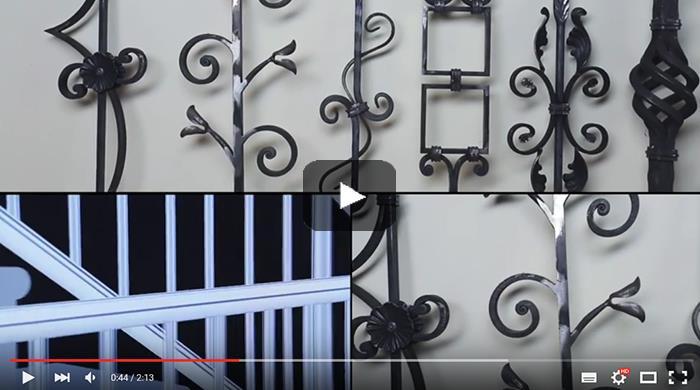 Видео: Перила для лестницы из металла