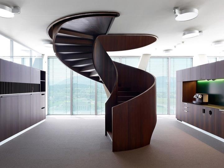 Особенности винтовой лестницы