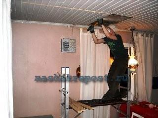 Демонтаж перекрытия для лестницы