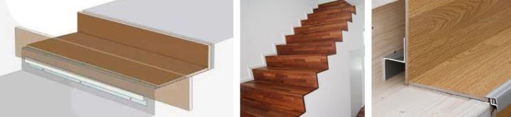 Стоимость облицовки ламинатом бетонной лестницы