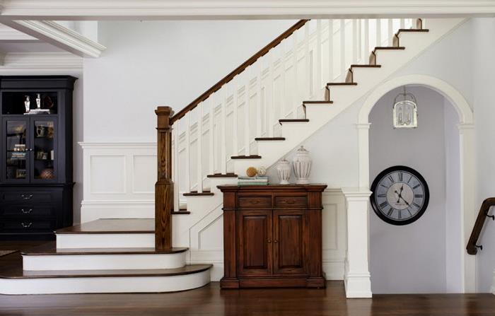 Лестницы с поворотом