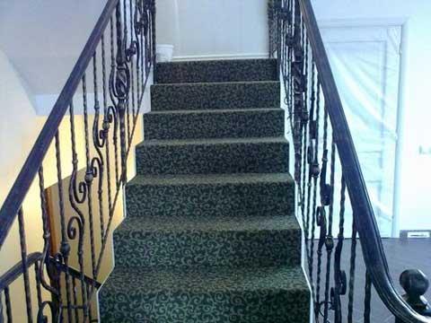 ковролин как покрытие для лестниц