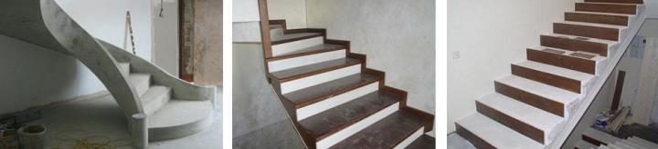 Отелывать деревом бетонную лестницу своими руками не просто
