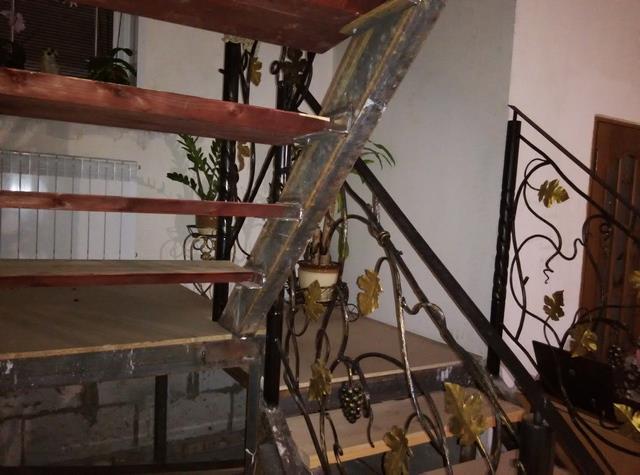 Металлическая лестница ошибки