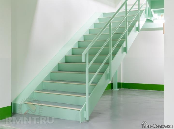 Создание универсальной металлической лестницы