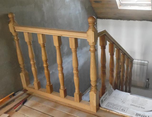 изготовление лестницы из дерева