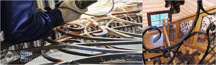 Изготовление металлических перил
