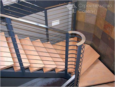 Создание лестницы на мансарду