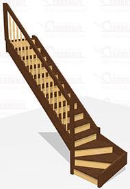 Деревянная лестница Стандарт за 60 000 руб.