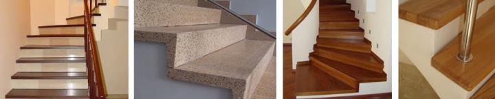 Варианты отделки лестниц бетонных