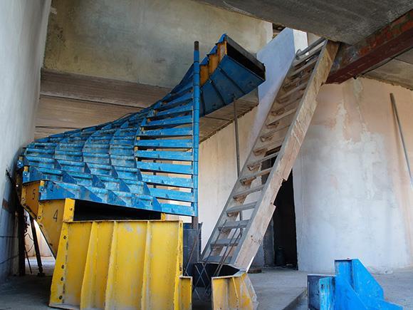 готовая опалубка для лестницы