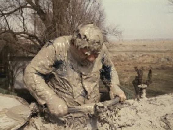 человек из бетона