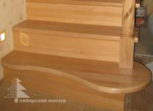 Ступени для лестниц из бука