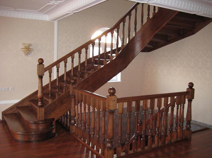 Деревянные лестницы Марш