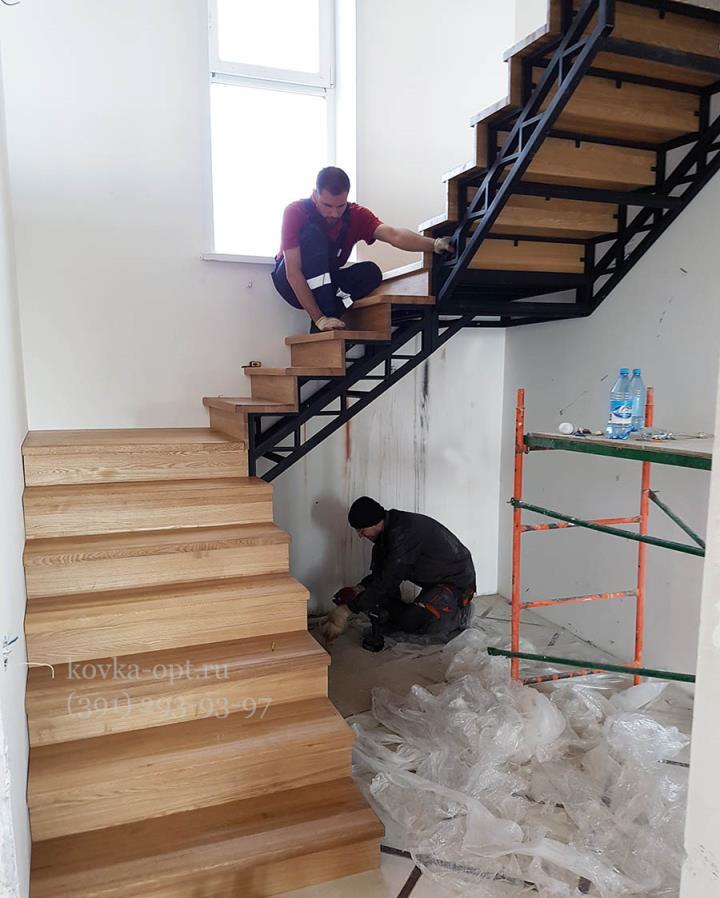каркас зашитой лестницы