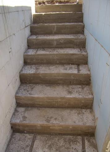 Бетонная лестница в подвал с улицы своими руками