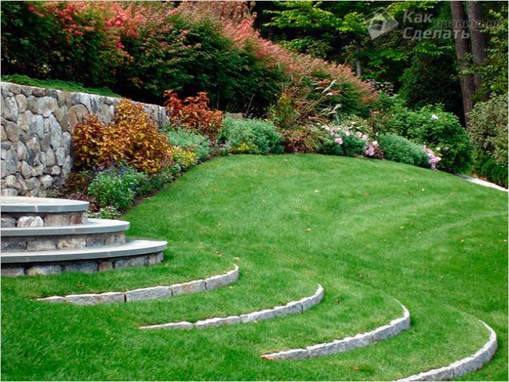 Вопросы безопасности садового элемента