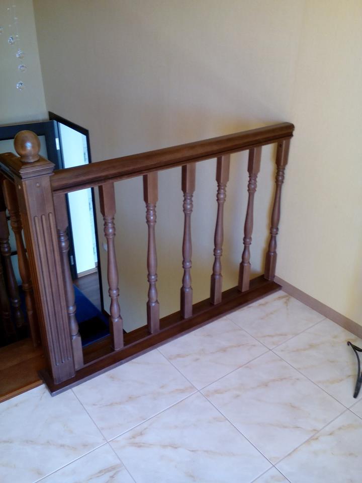 Лестница из бука, дуба, ясеня в Краснодаре - фото, цены