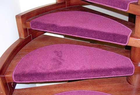 накладки из ковролина на ступени