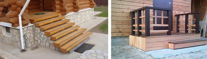 Варианты деревянной отделки