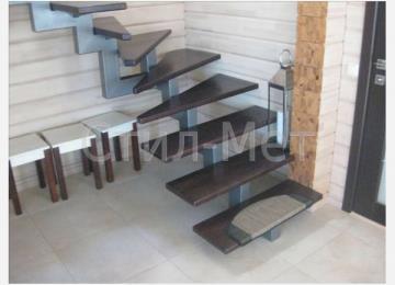 открытые лестницы на одном косоуре (3)