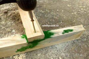 Установка ступеней деревянной лестницы