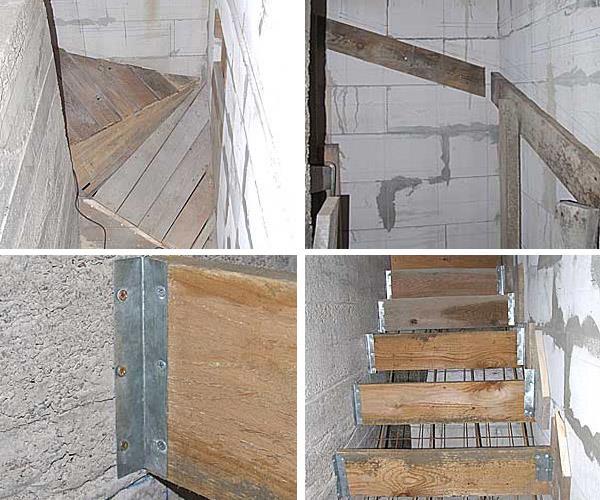 Строим бетонную лестницу своими руками